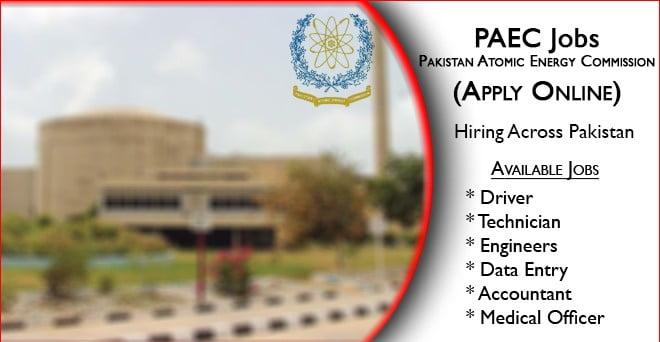 PAEC Jobs 2021 https //202.83 jobs