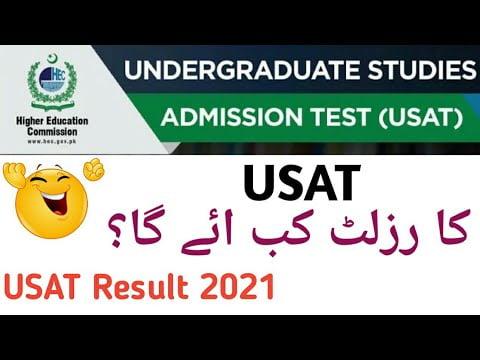 USAT Test Result 2021 Download [PDF]