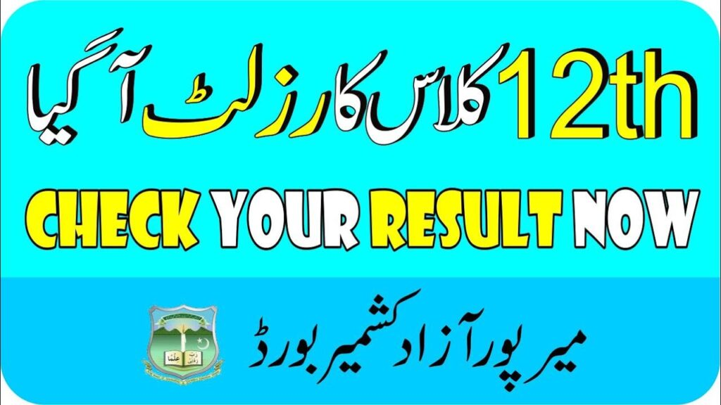 Bise AJK 12th Class Result 2021 - www.ajkbise.net result 2021