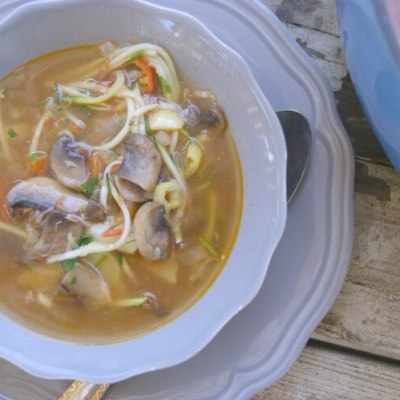 Lagman- Lamb and Vegetable Soup