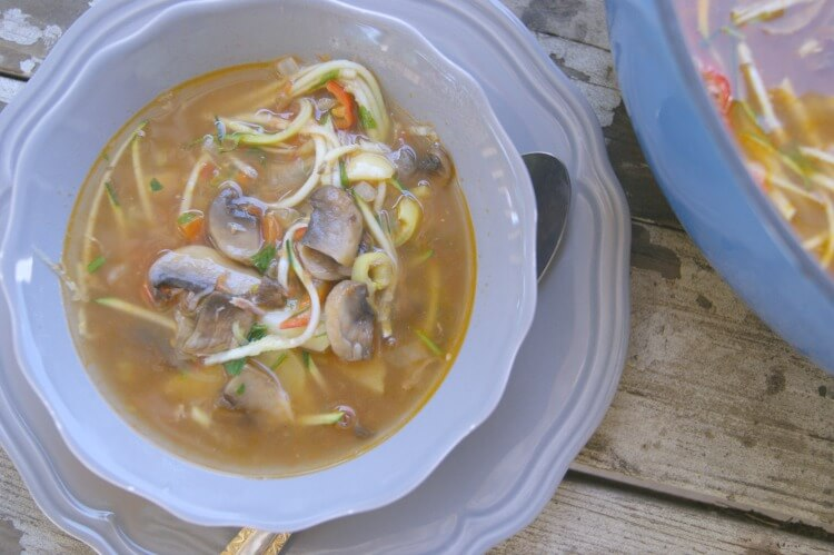 how to make lamb shank and vegetable soup