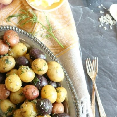 Butter and Dill Potato Medley (5-minute Instant Pot dish)