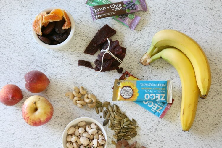 5 Ready-to-Eat Healthy Snacks - These FIVE ready to eat, no-fuss, no-prep healthy snacks are great for those in busy seasons.