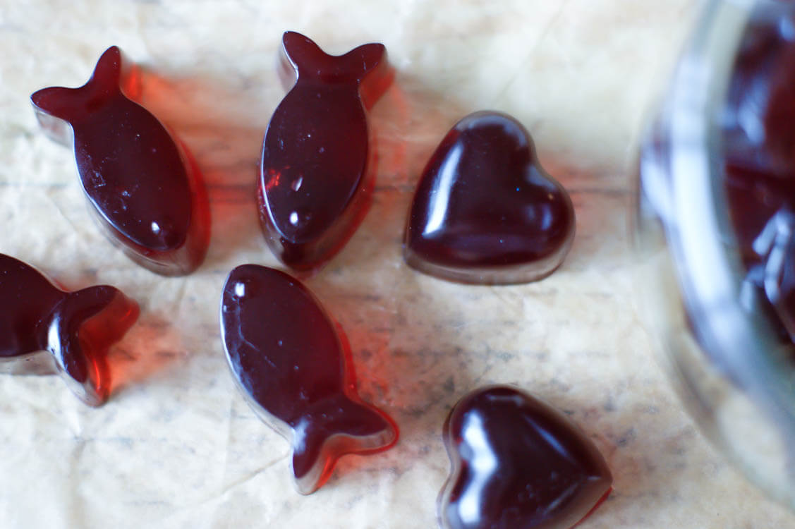 3 Ingredient Bedtime Gummies - With three simple ingredients, these Bedtime Gummies are sweetened with raw honey for extra nutrition and are overall a great wellness support. Paleo | Real Food | GAPS diet
