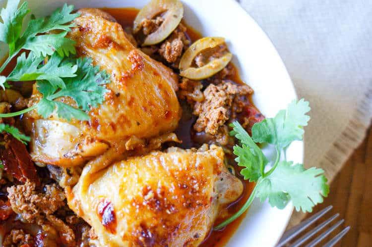 Instant Pot Citrus-Herb Basque Chicken