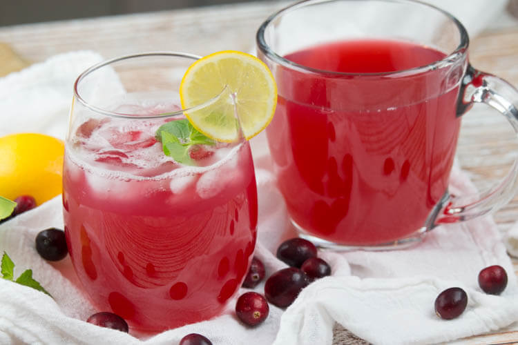 Honey-Sweetened Cranberry Juice (Instant Pot)- Slightly tart, with hints of cinnamon, this Honey-Sweetened Cranberry Juice can be enjoyed hot as a cider or iced as juice. Made easily in the electric pressure cooker, it's a festive addition to your holiday gathering. #holiday #instantpot #healthyinstantpot