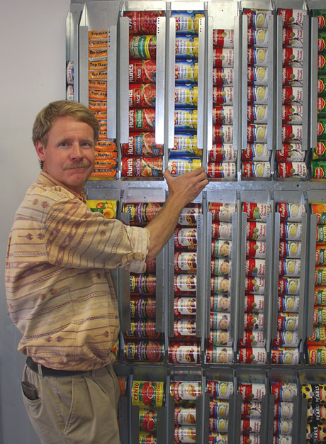 Wall Mounted Canned Food Storage : mounted, canned, storage, Creative, Storage, Solutions, Organize, Supplies, Prepared, Housewives