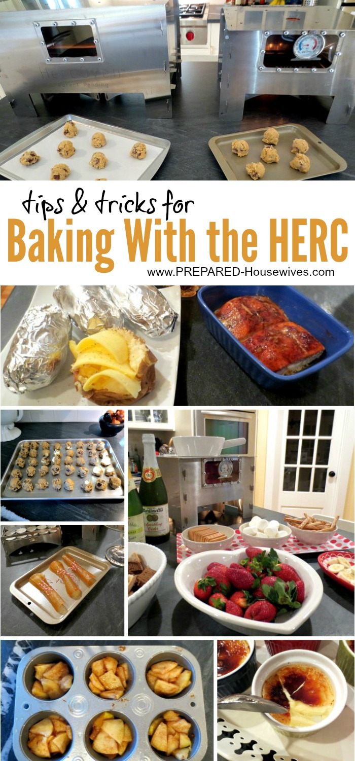 Tips & Tricks for Baking with the HERC Oven! You'll be amazed at all it can do!