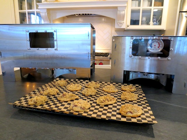 Eat a warm cookie! Made with the HERC Oven