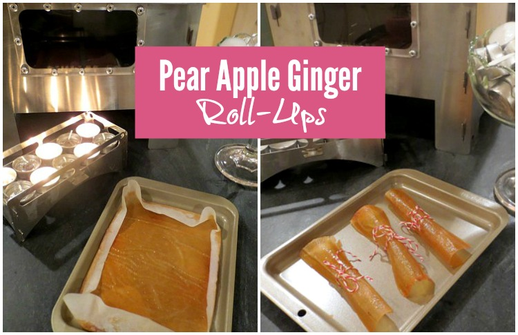 Try making these Pear Apple Ginger Roll-Ups