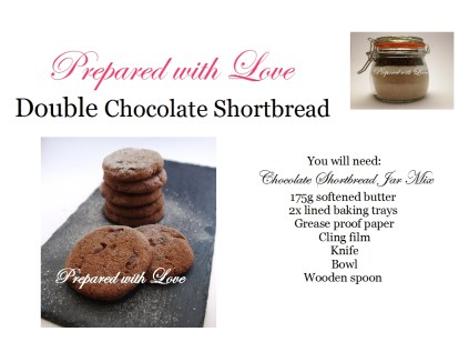 Double choc shortbread Tutorial
