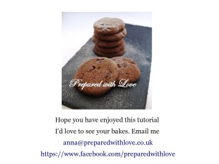 Prepared with Love Double Chocolate Biscuits Step by Step Instructions