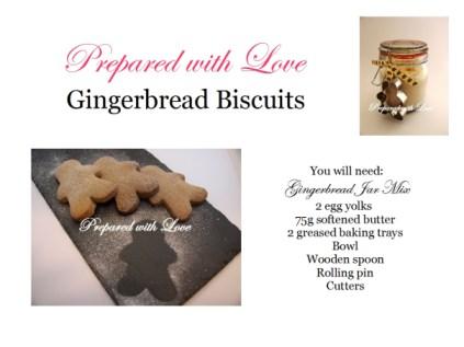 gingerbread tutorial