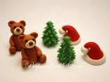 Mini Traditional Christmas Toppers