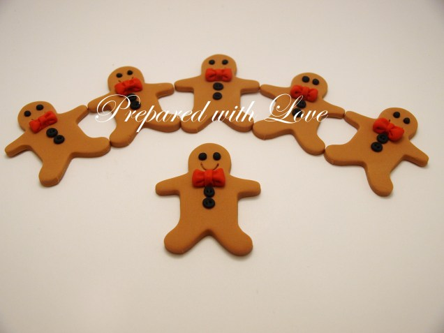 Flat Gingermen Toppers