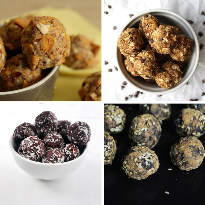 Recipes for energy balls to take hiking