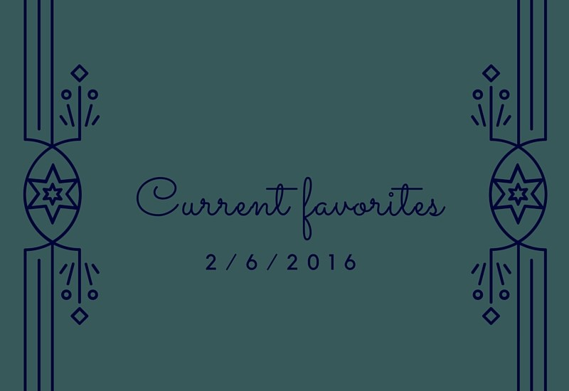 Current favorite things - tea, ferments, books