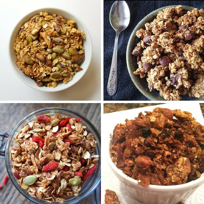 Hiking snacks: granola recipes