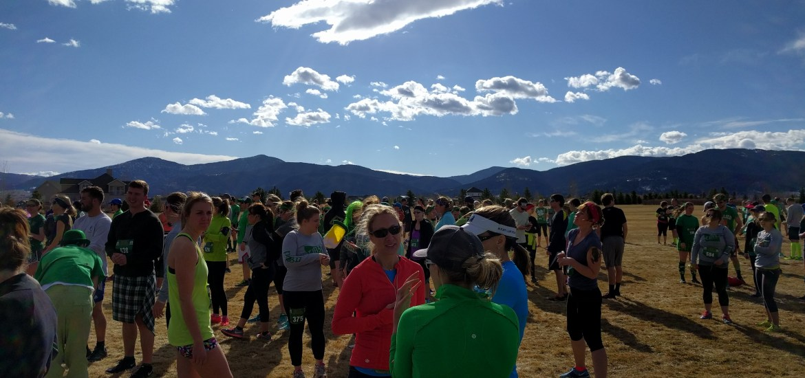 Run to the Pub recap. Race report from the Run to the Pub half marathon in Bozeman, Montana, March 12 2016.