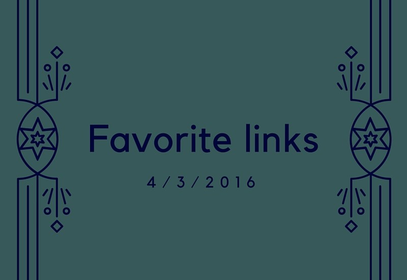 my favorite link of the week and other reads - outdoors, fitness, nutrition, health, science, recipes