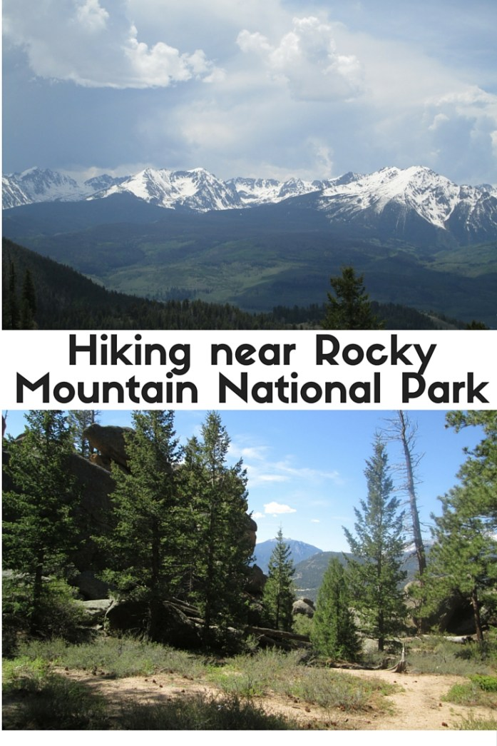 If you plan on hiking near Rocky Mountain National Park, try these short, easy to moderate hikes - Monarch Lake, Ute Pass, and Gem Lake.