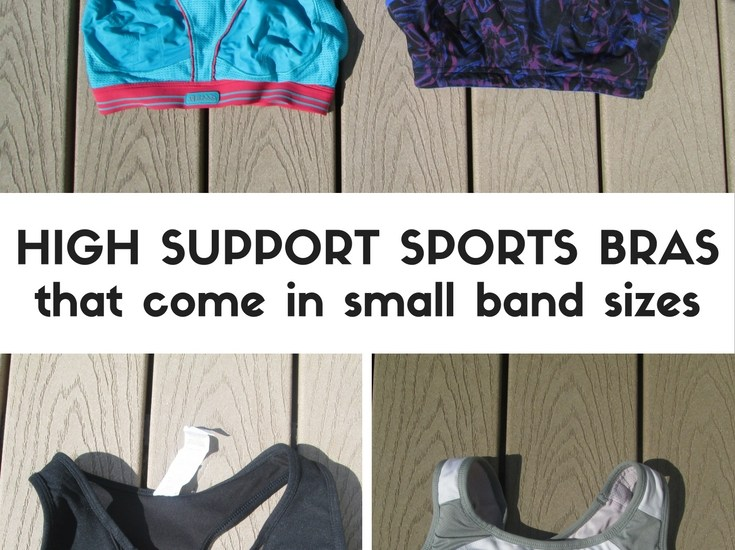 Stop layering 2 sports bras - here's a list of high support sports bras that fit small band sizes AND bigger cup sizes