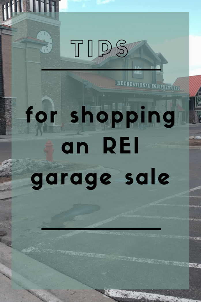 5 tips for making the most of an REI garage sale