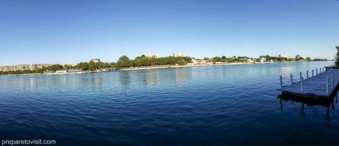 Mingachevir, river, Azerbaijan