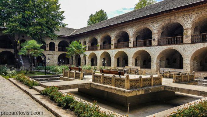 Kervansaray, Shaki, Azerbaijan