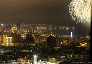 New Year's Eve Fireworks in Baku
