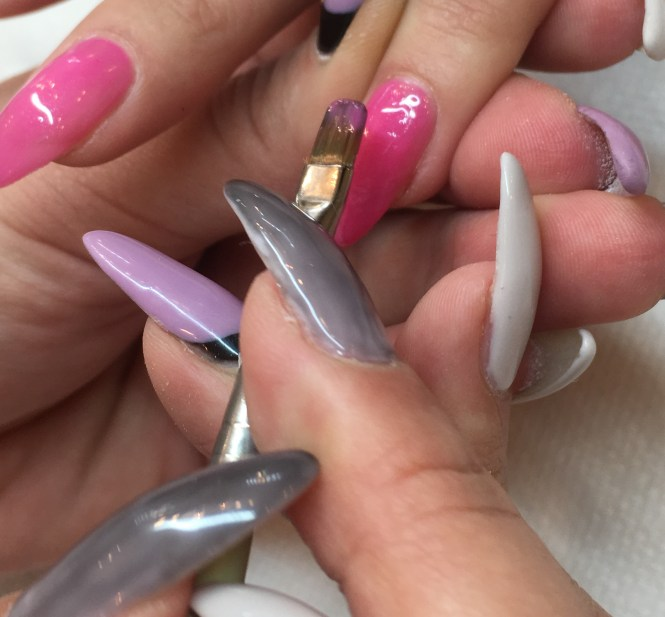Acrylic Nail Extensions Without Tips