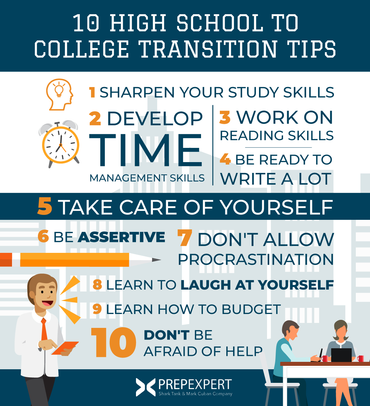 10 High School To College Transition Tips