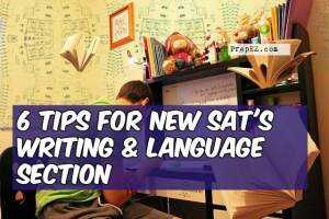 6 Tips for New SAT's Writing and Language Section