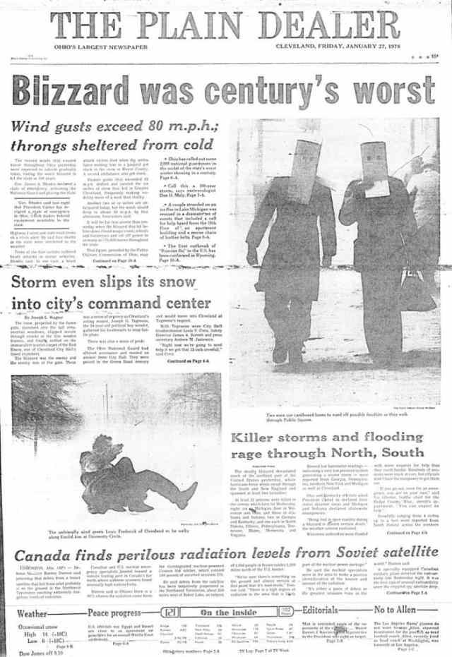 blizzard 1978 cleveland