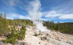 Steamboat Geyser Eruptions