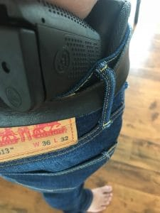 concealed carry hip holster