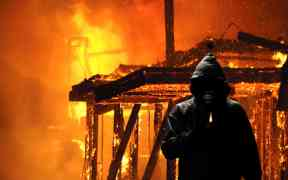 australia wildfire arson