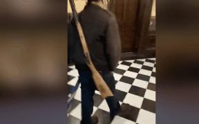 michigan protesters storm capitol