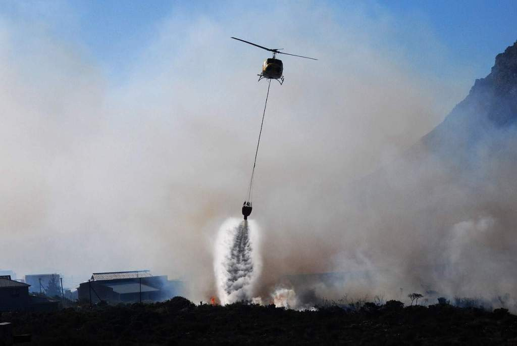 google maps wildfire