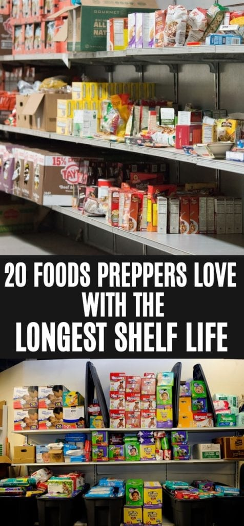 20 Foods With Long Shelf Lives That Last For The Long Term