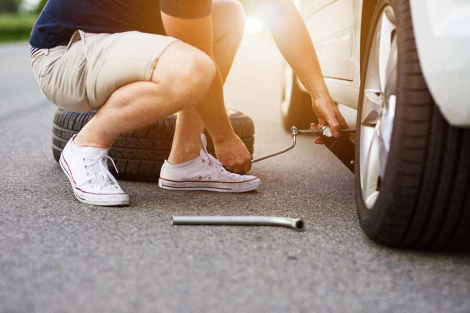 Roadside Tire Change