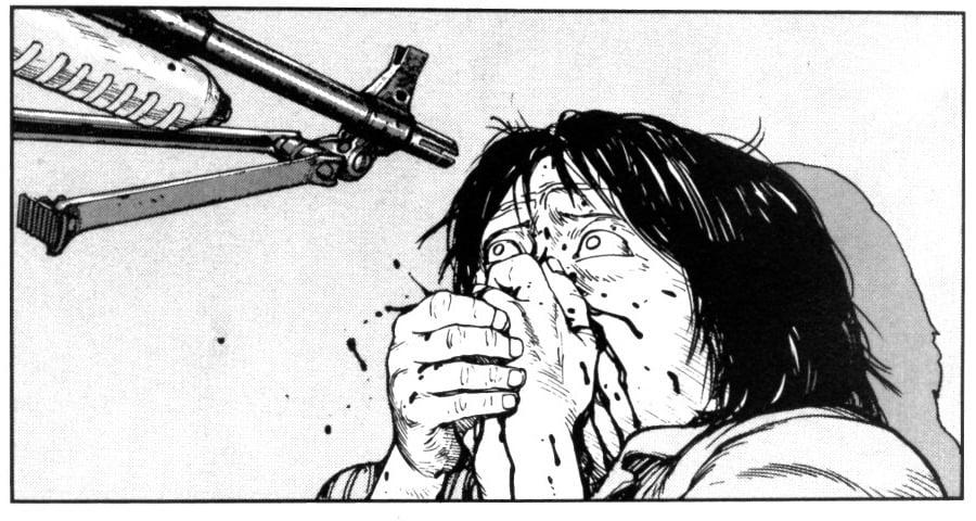 La violence d'Akira