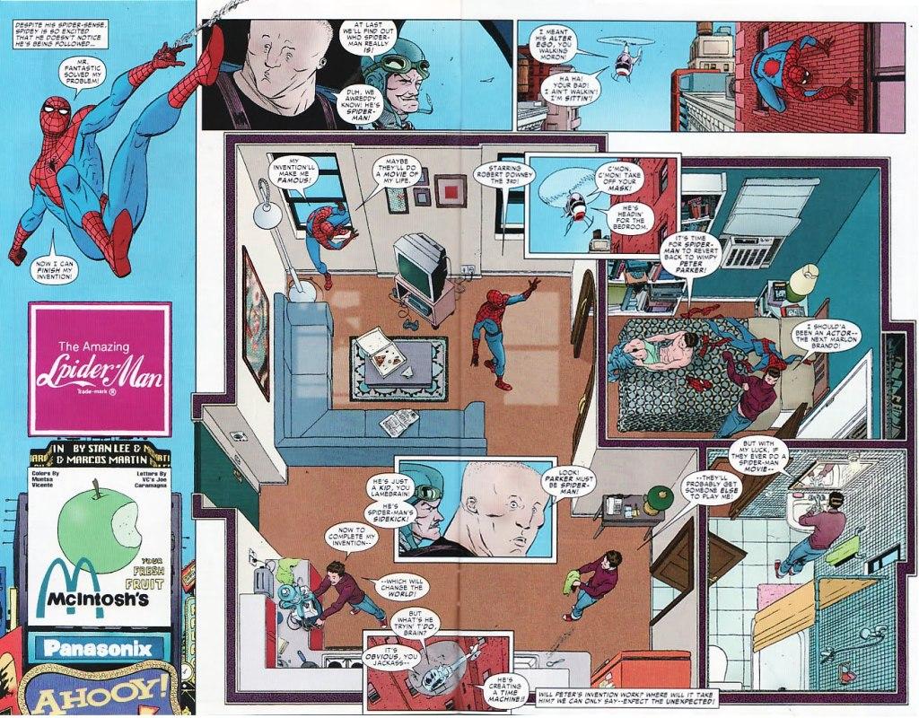 Un spider-man illustré par Marcos Martin où on peut observé tout le travail d'un illustrateur au coup de crayon si particulier. Tellement propre;