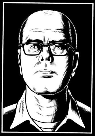 Autoportrait de Charles Burns