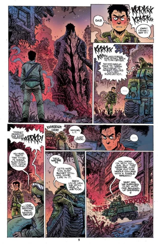 Godzilla Half Century War chez IDW Publishing