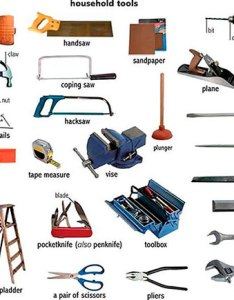 Common tools in english also names of rh preply