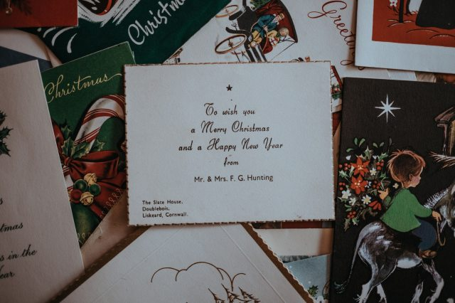 Christmas and New Year Greetings Examples