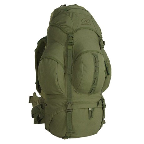 New Forces 66 Rucksack – Olive Green (Front)