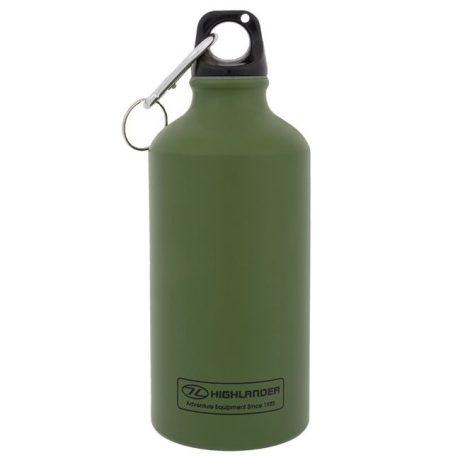 bottle-water-0.5l-500ml-olive-green-alu-aluminium-hydration
