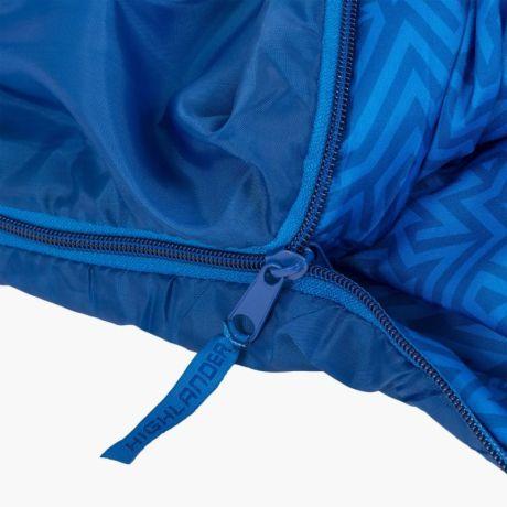 HIGHLANDER-SLEEPLINE-JNR-MUMMY-SLEEPING-BAG-BLUE-5